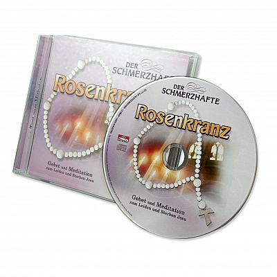 CD mit Gebetstext schmerzhafter Rosenkranz