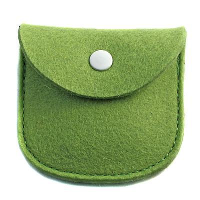 Filz Etui grün