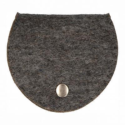 Rosenkranztäschchen Filz, grau (Grau)