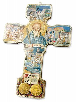 Ikonenkreuz 'Benediktus'