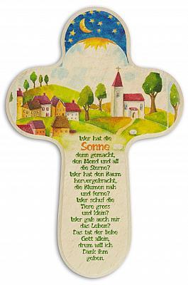 Kinderkreuz 'idyllisches Dorf'