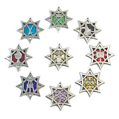 Die neun Chöre der Engel, Zinn und Glas