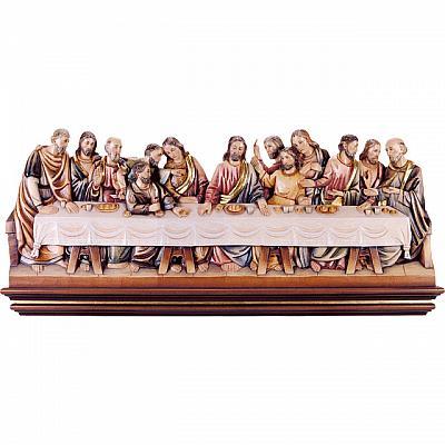 Abendmahl nach Leonardo da Vinci, Holz