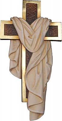 Auferstehungskreuz, Holz
