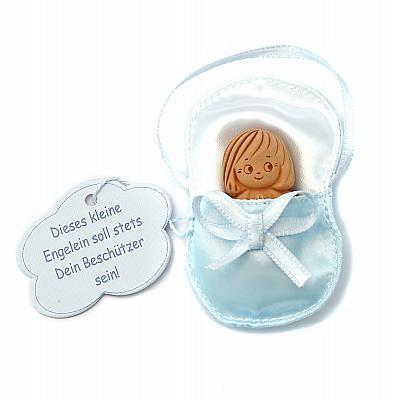 Babyschutzengel hellblau