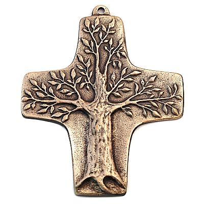 Bronzekreuz 'Lebensbaum'
