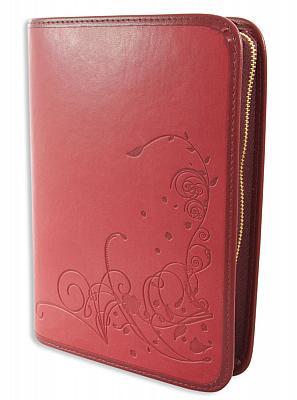 Gotteslobhülle 'Ornamentik', rot (Rot)