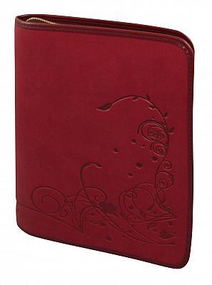 Gotteslob-Hülle 'Ornamentik' Großdruck, rot