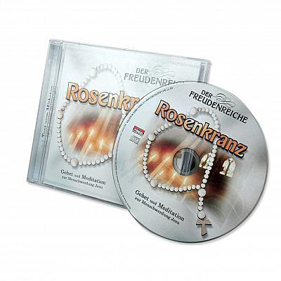 CD mit Gebetstext freudenreicher Rosenkranz