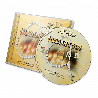 CD mit Gebetstext lichtreicher Rosenkranz