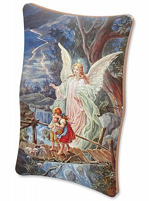 Engelbild 'Engel schützt Kinder auf Brücke'
