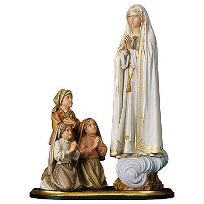 Erscheinungsgruppe Fatima, Holz