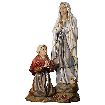 Erscheinungsgruppe Lourdes, Holz
