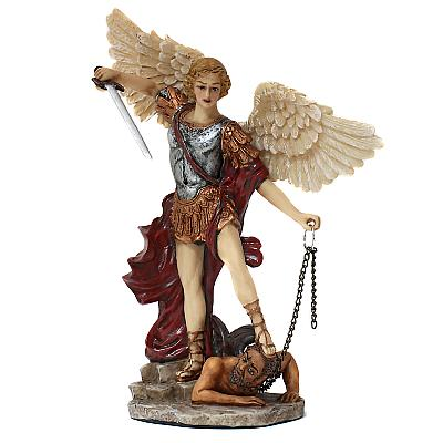 Erzengel Michael II, Polyresin