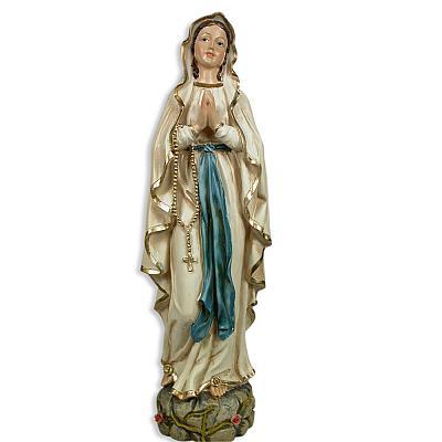 Madonna von Lourdes, Kunstharz 30 cm