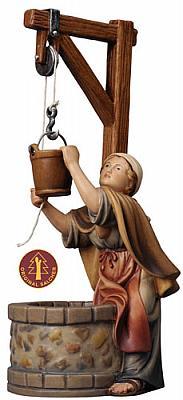 Frau am Brunnen (Betlehem Krippe)