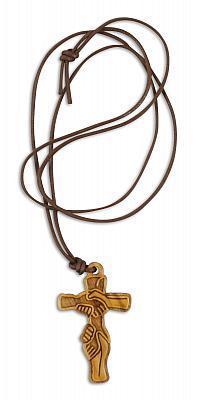 Kreuz der Freundschaft, Olivenholz
