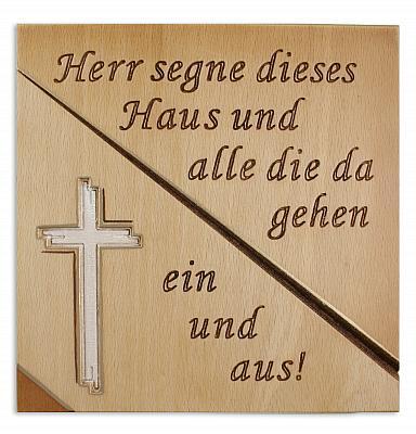 Haussegen 'Kreuz', Relief