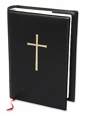 Gotteslob-Umschlaghülle mit Kreuz, schwarz (Schwarz)
