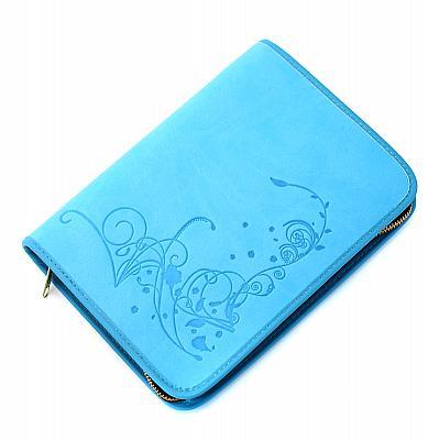 Gotteslobhülle 'Ornamentik', hellblau (Hellblau)