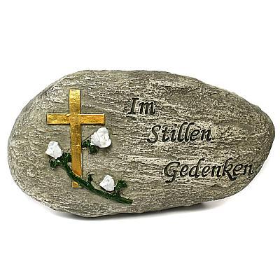 Grabstein 'Im Stillen Gedenken', länglich