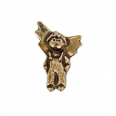 Handschmeichler 'Engel Junge', Bronze