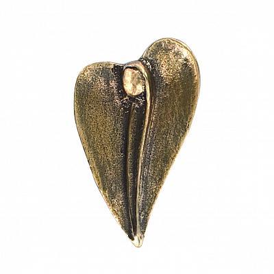 Handschmeichler 'Herzengel', Bronze