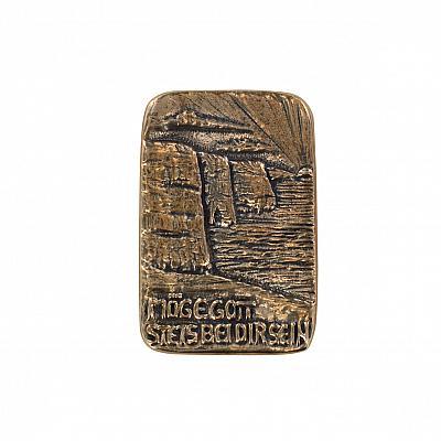 Handschmeichler 'Irischer Segen', Bronze