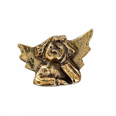 Handschmeichler 'Nachdenklicher Engel', Bronze