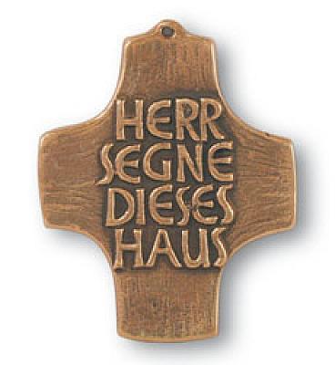 Haussegen Bronzekreuz