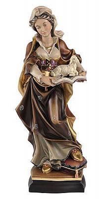 Heilige Agnes, Holz
