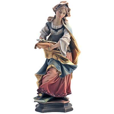 Heilige Apollonia III, Holz
