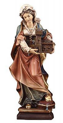 Heilige Barbara II, Holz