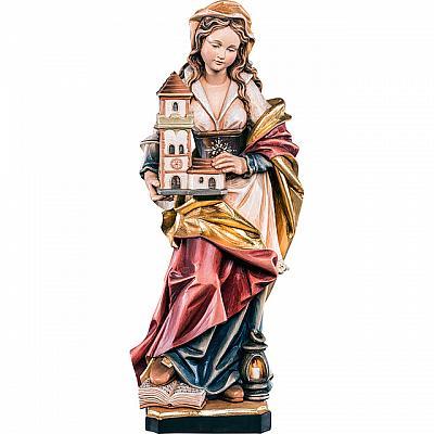 Heilige Barbara III, Holz