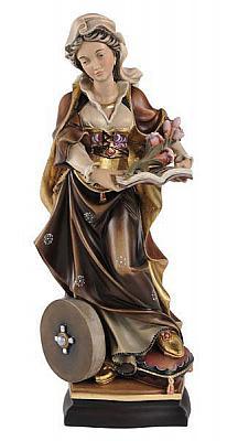 Heilige Christina, Holz