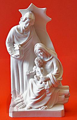 Heilige Familie Alabaster 20 cm