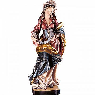 Heilige Katharina, Holz