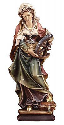 Heilige Katherina, Holz