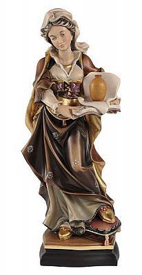 Heilige Magdalena mit Schweißtuch und Vase, Holz