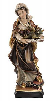 Heilige Margareta mit Drachen, Holz