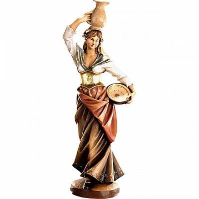 Heilige Rebecca mit Krug, Holz