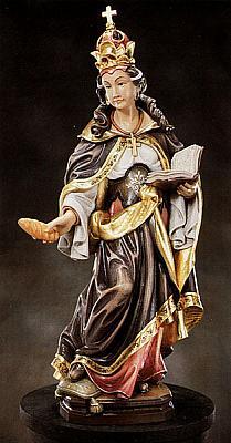Heilige Renate, Holz
