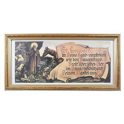 Heiligenbild Hl. Leonhard Haussegen