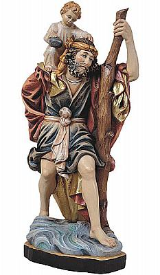 Heiliger Christophorus 'Kölner Dom', Holz