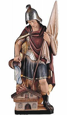 Heiliger Florian IV, Holz