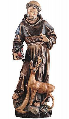 Heiliger Franziskus, Holz
