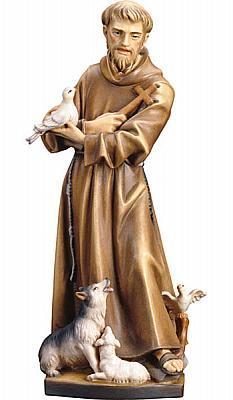 Heiliger Franziskus von Assisi, Holz