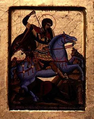 Heiliger Georg Ikone