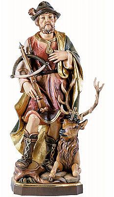 Heiliger Hubertus, Holz