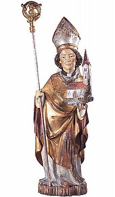Heiliger Wolfgang II, Holz